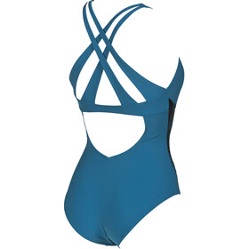 arena Maia Criss Cross Back One Piece Swimsuit Dam curacao-curacao